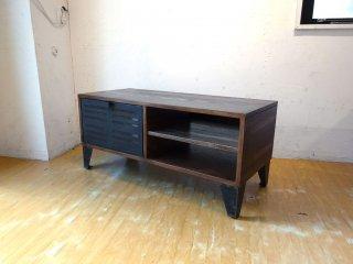 ジャーナルスタンダードファニチャー journal standard Furniture シノン CHINON TV BOARD M アッシュ材 フラップ扉 AVボード ★