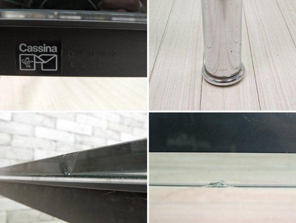 カッシーナ Cassina LC10-P センターテーブル ローテーブル W140 シール&刻印有 ルコルビジェ シャルロットペリアン ピエールジャンヌレ ●