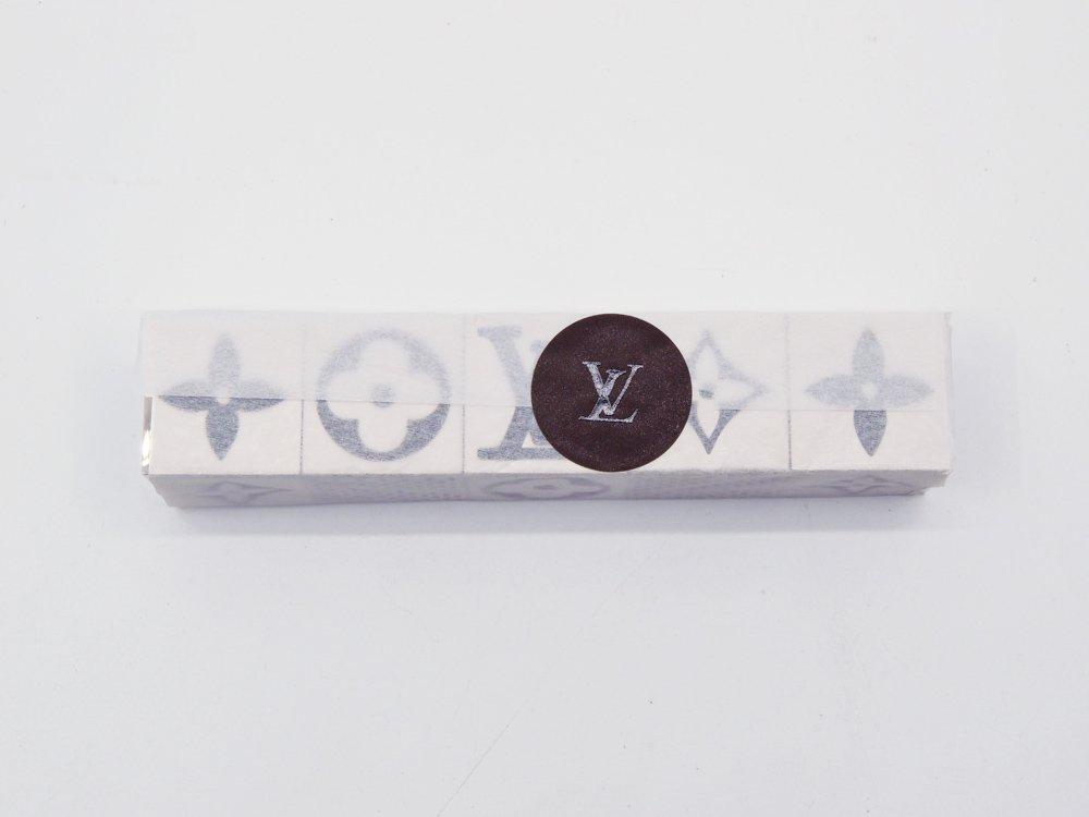 ルイヴィトン Louis Vuitton キューブゲーム LV CUBE GAME モノグラム ダイス シルバー 5pcs SET 元箱付 未開封 2011年 VIP限定 ノベルティ 希少 ●