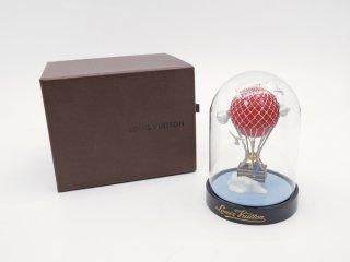 ルイヴィトン Louis Vuitton マルアエロ 気球 ドーム型オブジェ ガラス 置物 元箱付 2013年 VIP限定 ノベルティ 希少 ●