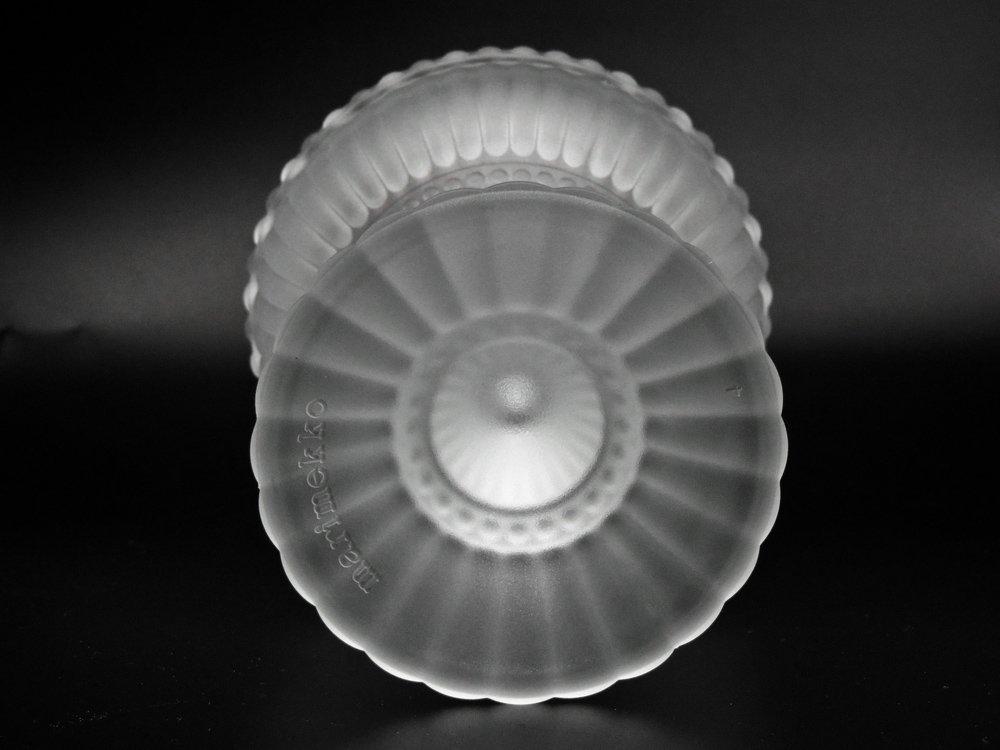 イッタラ iittala × マリメッコ marimekko マリボウル フロスト ラージ 廃番 フィンランド 北欧食器 ●