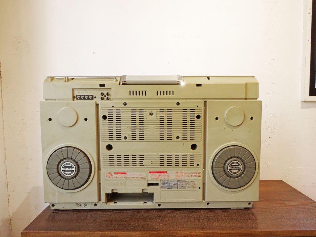 シャープ SHARP デュアルプレイ ディスクステレオシステム DUAL-PLAY DISC STEREO SYSTEM VZ-V2 カセットデッキ&レコードプレーヤー レア ★