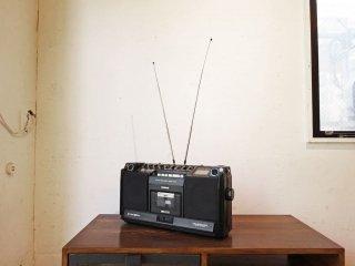 ナショナル National 松下電器 FM/AM ステレオラジオカセット STEREO MAC ST-5 RS-4250 70-80年代 ビッグラジカセ 要メンテ ★