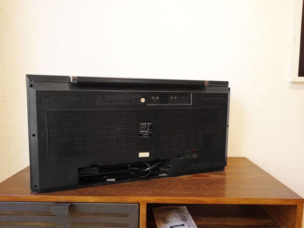 ラソニック LASONIC TRC-975 ブームボックス boombox ダブルカセット ビッグラジカセ 80年代 動作OK Old school HIPHOP ブレイクダンス ★