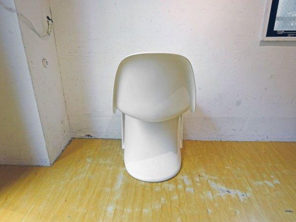 ヴィトラ vitra パントンチェア Panton Chair ホワイト ヴェルナー・パントン Panton スタッキングチェア ミッドセンチュリー スペースエイジ ★