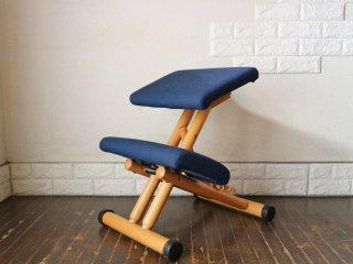 ストッケ STOKKE マルチバランス MALTI balans バランスチェア 学習椅子 ネイビー 北欧 ノルウェー ◎