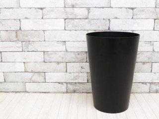 マーガレットハウエル MARGARET HOWELL × サイトーウッド SAITOWOOD ダストボックス WOODEN BUCKET ラージ ブラック ゴミ箱 ハウスホールドグッズ ●