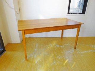 オールドメゾン old maison ダイニングテーブル dining table 古材 チーク無垢材 幅145cm ★