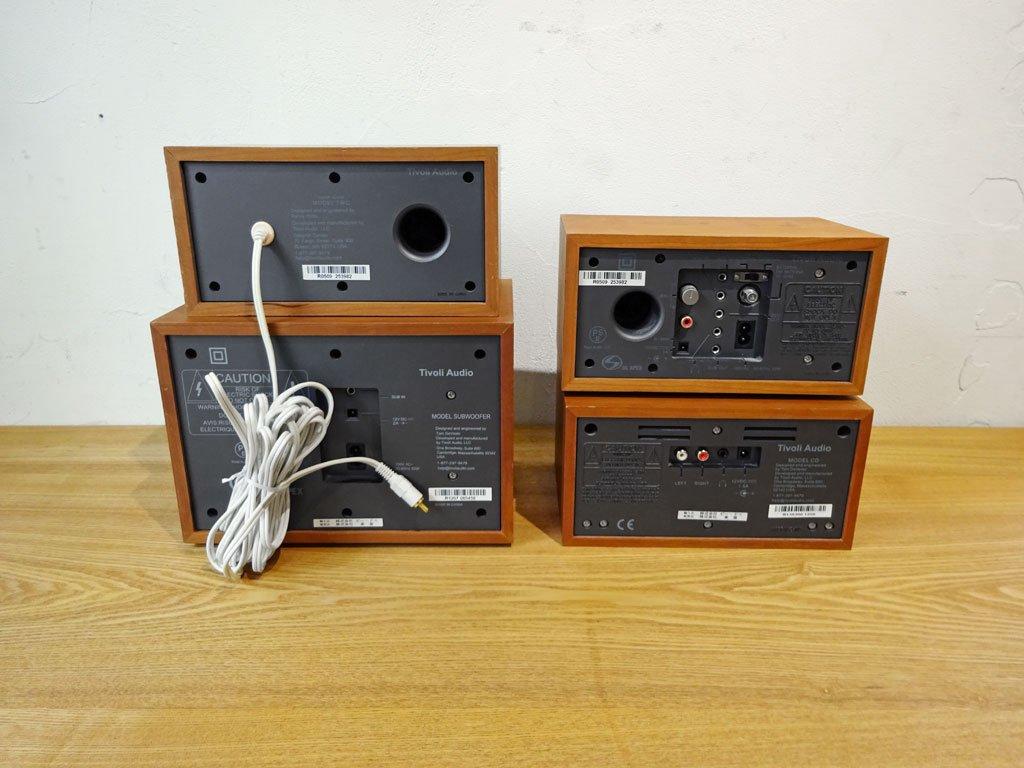 チボリ オーディオ Tivoli Audio MODEL TWO MODEL CD ラジオ サブウーファー スピーカー ヘンリークロス オーディオセット ★