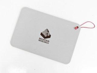 マウンテンリサーチ MOUNTAIN RESEARCH ヒップパッド HIP PAD ウレタン 携帯用座布団 グレー ポータブル アウトドア 希少 ●