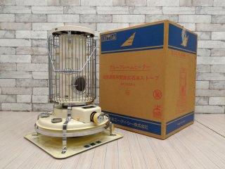 アラジン Araddin ブルーフレームヒーター Blue Flame Heater 石油ストーブ 39型 BF3902SKD 99年製 ホワイト 替え芯 元箱付き ●