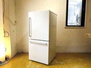 無印良品 MUJI バーハンドル シンプルモダンデザイン ノンフロン冷蔵庫 MJ-R16A 2ドア 157L 深澤直人 2020年製 美品 ★