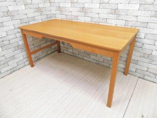 ソボーモブラー soborg mobler SM-70 オーク材 ワークデスク テーブル w155 ボーエ・モーエンセン Borge Mogensen デンマーク A ●
