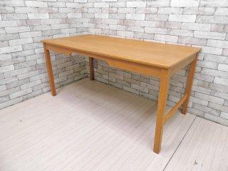 ソボーモブラー soborg mobler SM-70 オーク材 ワークデスク テーブル w155 ボーエ・モーエンセン Borge Mogensen デンマーク B ●