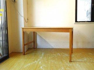 ソボーモブラー soborg mobler SM-70 オーク材 ワークデスク テーブル w123 H型レッグ ボーエ・モーエンセン Borge Mogensen デンマーク ★