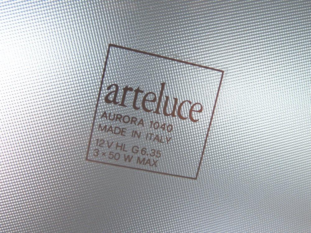 アルテルーチェ arteluce オーロラ ガラス ペンダントライト Aurora Pendant ペリー・キング サンティアゴ・ミランダ イタリア ビンテージ ポストモダン A ●