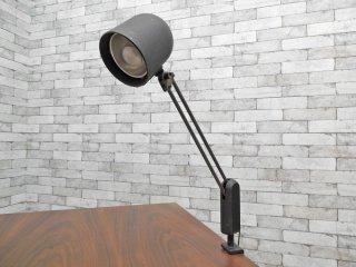 ナショナル National クランプ デスクランプ ブラック 角度調整可 ビンテージ インダストリアルデザイン ●