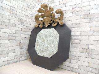 マルケッティ Marchetti ウォールミラー 飾り鏡 イタリア ジャンニ・マルケッティ ●