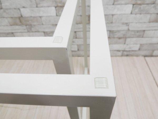 ビスレー BISLEY Lフット スチールフレーム ホワイト デスク脚 英国 定価¥52,800- ●