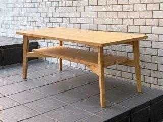 シーヴ SIEVE シーン scene センターテーブル タモ材 ナチュラル 北欧スタイル ■