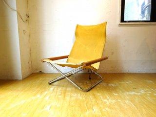ニーチェア エックス Ny chair X フォールディングチェア マスタード 折畳 チェア 新居 猛 MoMA ★