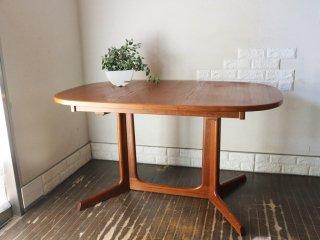 グドメ GUDME ダイニングテーブル チーク材 北欧 デンマーク Niels O. Moller デザイン ◎