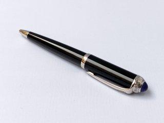 カルティエ Cartier R ドゥ カルティエ ボールペン R DE CARTIER BALLPOINT PEN ブラック ■