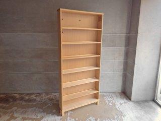無印良品 MUJI タモ材 組み合わせて使える木製収納 高さ175cm 本棚 ブックシェルフ ♪