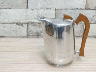ピコウェア Picquot Ware ティーポット コーヒーポット ケトル 60s ビンテージ 英国 UK B ●