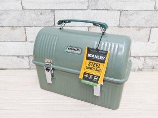 スタンレー STANLEY スチールランチボックス Steel Lunchbox 9.4L グリーン アウトドア 未使用品 ●