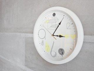 カトリーン グレイリング Katrin Greiling ウォールクロック 掛け時計 ラウンド ホワイト Φ32cm 北欧 ♪