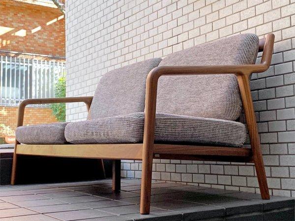 宮崎椅子製作所 ペペ PePe sofa 2シーター ソファ ウォールナット 村澤一晃 ■