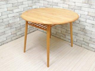 モモナチュラル MOMO natural モチャ MOCHA サークルテーブル 950 CIRCLE TABLE アルダー材 ダイニングテーブル 定価:約5.7万円 ●