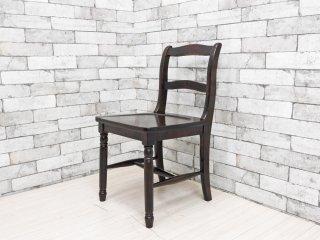 北海道民芸家具 樺材 ダイニングチェア HM686 小椅子 国産家具 ●