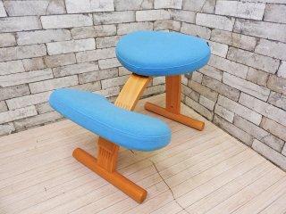 サカモトハウス SAKAMOTO HOUSE バランスイージー balans Easy バランスチェア 学習椅子 姿勢矯正 取扱説明書付き ●
