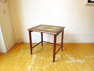 TOFTEN mobelfabrikke ローズウッド タイルトップ サイドテーブル Side table 60's 北欧 ビンテージ ★