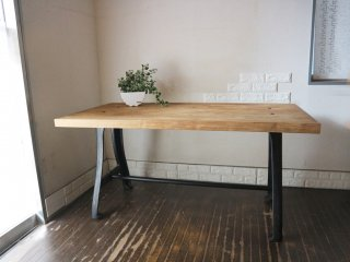 アクメ ファニチャー ACME furniture ディーボディ ダイニングテーブル 古材 × アイアン ファクトリー テーブル ◎