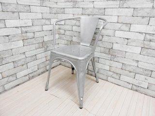 トリックス Tolix エーチェア A-chair A56 アームチェア カフェチェア インダストリアル フランス 参考価格:\77,000- A ●