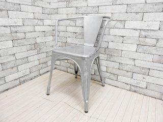 トリックス Tolix エーチェア A-chair A56 アームチェア カフェチェア インダストリアル フランス 参考価格:\77,000- B ●