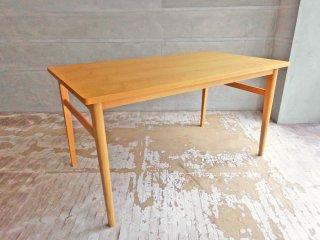 ウニコ unico シグネ SIGNE ダイニングテーブル W140 ナチュラル アッシュ材 定価70,180円 ♪