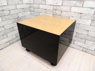 ホテル クラスカ Hotel CLASKA オーダーメイド 将棋盤型テーブル コーヒーテーブル センターテーブル ピアノ塗装 岡嶌要デザイン ●