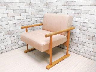 クラスカ interior & furniture CLASKA クロッグスソファ Clogs Sofa オーク材 岡嶌要デザイン ●