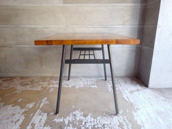 クラッシュゲート CRASH GATE ノットアンティークス Knot antiques クッパ2 KOOPA2 ダイニングテーブル W100 オーク材 無垢材 鉄脚 ♪