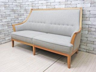 マルニ木工 MARUNI COLLECTION トラディショナル TRADITIONAL Two Seater Sofa 2Pソファ グレー 深澤直人 定価385,000円 ●