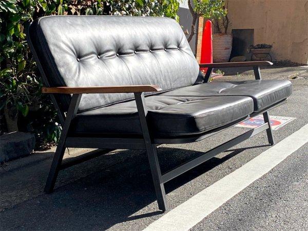 アクメファニチャー ACME Furniture グランビュー GRANDVIEW SOFA 2P ソファ ブラック オイルレザー 別注カラー ■