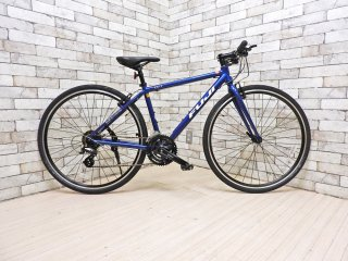 フジ自転車 FUJI BIKES ロードクロスバイク 自転車 スポーツバイク 19 ライズ RAIZ ファインブルー 32インチ ●