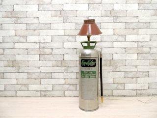 USビンテージ ファイヤーファイト Fyr-Fyter ステンレス ボンベ型ライト フロアライト 消火器 ●