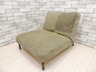ジャーナルスタンダードファニチャー journal standard Furniture ロデ RODEZ 1人掛け ソファ リクライニングソファ カバーリング ●