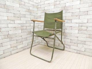 イギリス軍 ビンテージ ブリティッシュ アーミー British Army ローバー チェア Rover Chair フォールディングチェア 83年製 ブロードアロー A ●