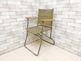 イギリス軍 ビンテージ ブリティッシュ アーミー British Army ローバー チェア Rover Chair フォールディングチェア 94年製 ブロードアロー B ●